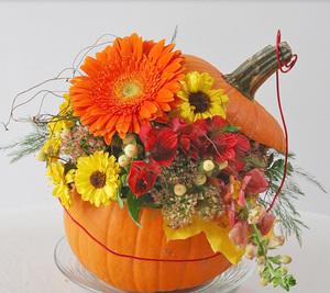 Wed Nov 25 2020 10am, Sugar Pumpkin Centerpiece -Adult, 201125101
